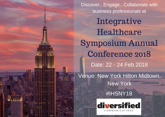 Integrative Healthcare Symposium Annual Conference 2018