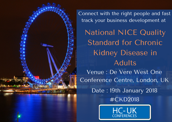 National NICE Quality Standard for Chronic Kidney Disease in Adults