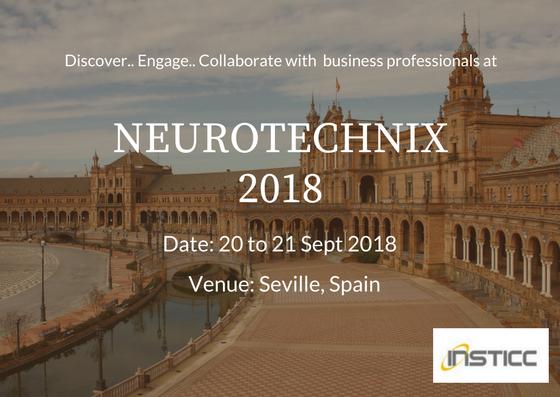 6th International Congress On Neurotechnology Electronics And Informatics NEUROTECHNIX 2018