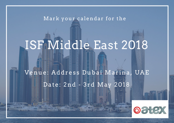 ISF Middle East 2018   Health and Wellness   ATEX International