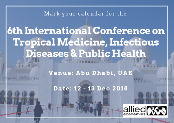 6th International Conference On Tropical Medicine Infectious Diseases Public Health