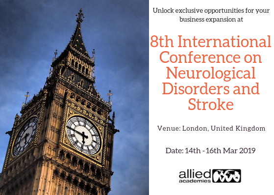 8th International Conference on Neurological Disorders and Stroke