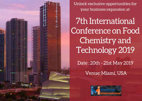 7th International Conference on Food Chemistry and