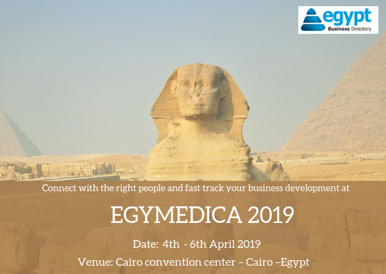 EGYMEDICA 2019 | Medical Equipments | Green Land For Organizing