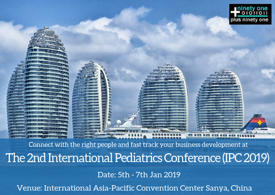 The 2nd International Pediatrics Conference (IPC 2019) | Pediatrics