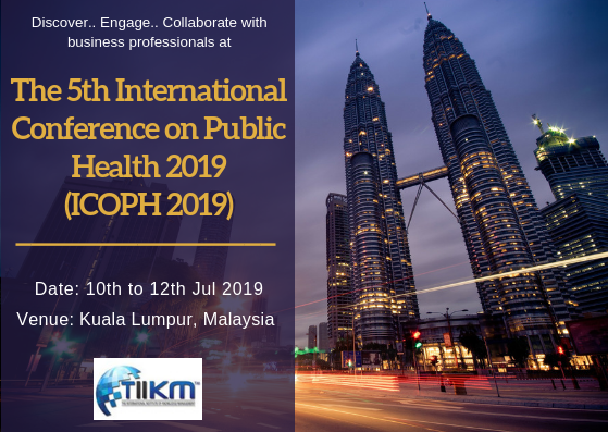 The 5th International Conference on Public Health 2019