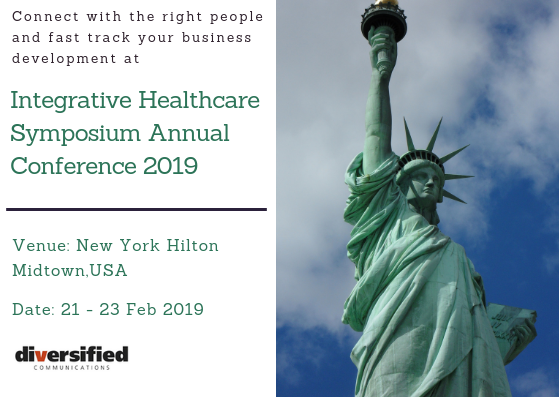 Integrative Healthcare Symposium Annual Conference 2019