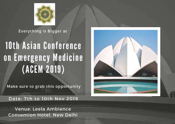 10th Asian Conference on Emergency Medicine (ACEM 2019