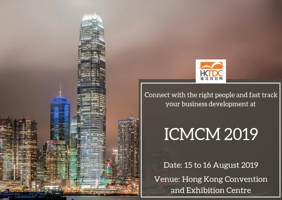 ICMCM 2019   Homeopathy,Health and Wellness   Hong Kong Trade