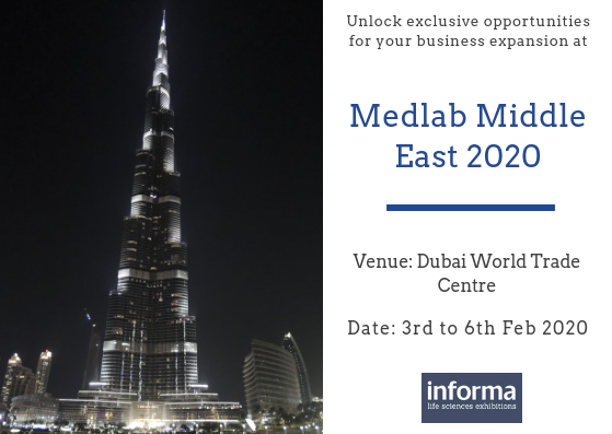 Medlab Middle East 2020 | Pathology and Microbiology,Medical