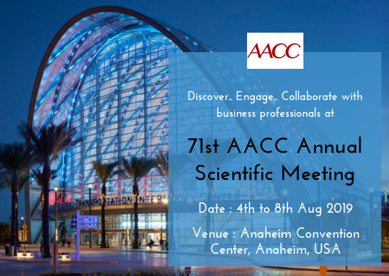 71st AACC Annual Scientific Meeting | Pathology and Microbiology